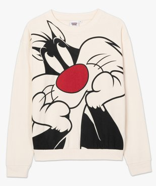 Sweat femme imprimé toons XXL - Looney Tunes vue4 - GEMO(FEMME PAP) - GEMO