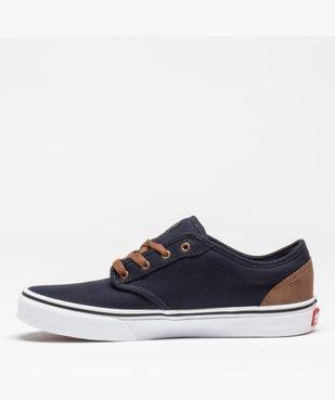 Tennis garçon en toile à lacets – Vans Atwood vue3 - VANS - Nikesneakers