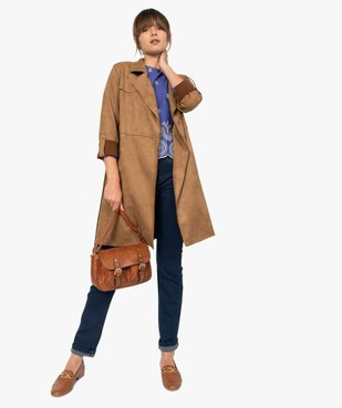 Jean femme extensible coupe Regular – Longueur L30 vue5 - GEMO (JEAN) - GEMO