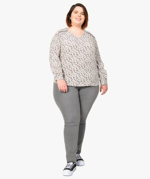 Blouse femme imprimée à manches longues vue5 - Nikesneakers (G TAILLE) - Nikesneakers
