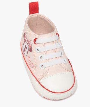 Tennis de naissance bébé fille en toile Minnie Mouse  vue5 - MINNIE - Nikesneakers