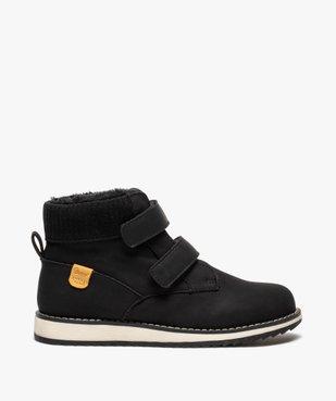 Boots garçon unis à col rembourré et doublure chaude vue1 - Nikesneakers (ENFANT) - Nikesneakers