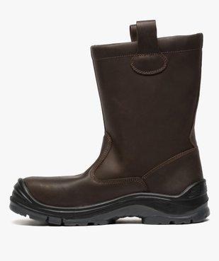 Chaussures professionnelles homme bottes de sécurité vue3 - GEMO (EQUIPT) - GEMO
