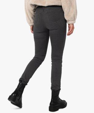 Pantalon femme coupe Slim taille haute – L30 vue3 - GEMO(FEMME PAP) - GEMO