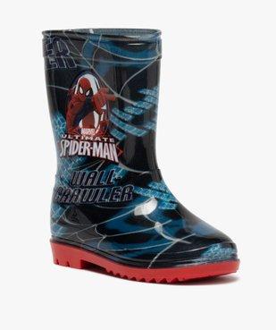 Bottes de pluie garçon - Spiderman vue2 - SPIDERMAN - GEMO
