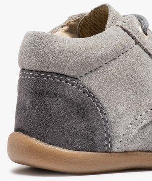 Chaussures de marche bébé en cuir bicolores vue6 - GEMO(BEBE DEBT) - GEMO