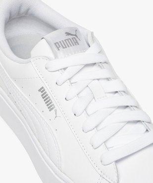 Tennis femme à lacets et semelle plateforme - Puma vue6 - PUMA - GEMO