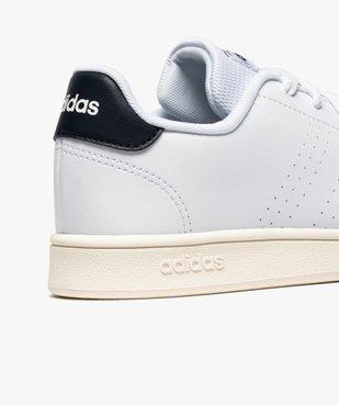 Baskets femme unies à lacets – Adidas Advantage K vue6 - ADIDAS - GEMO