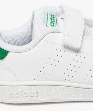 Baskets garçon unies à scratch – Adidas vue6 - ADIDAS - Nikesneakers