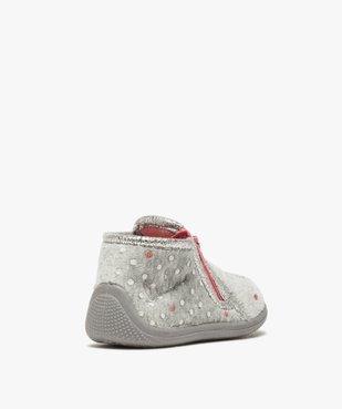 Chaussons bébé fille bottillons zippés – LuluCastagnette vue4 - LULU CASTAGNETT - GEMO