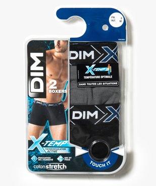 Boxer homme coton stretch X-Temp - Dim (lot de 2) vue2 - DIM - GEMO