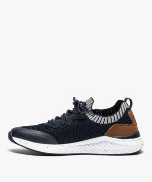 Baskets homme style chaussettes à lacets - Roadsign vue3 - ROADSIGN - GEMO