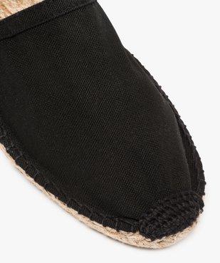 Espadrilles homme en coton bio uni - Mieux  vue6 - GEMO C4G HOMME - GEMO