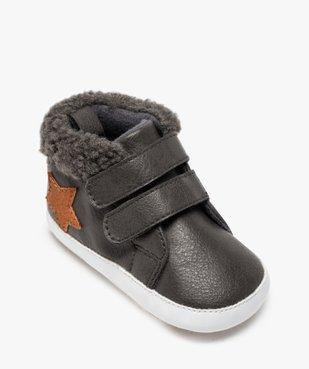 Chaussons naissance bébé garçon à col rembourré vue5 - Nikesneakers(BB COUCHE) - Nikesneakers