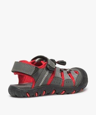 Sandales garçon multi-matières tout terrain vue4 - Nikesneakers (ENFANT) - Nikesneakers