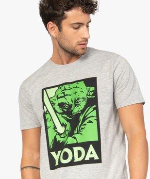 Tee-shirt homme avec motif Maitre Yoda – Star Wars vue1 - STAR WARS - GEMO