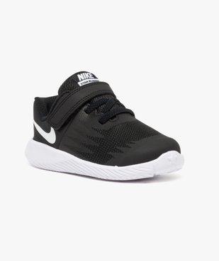 Baskets basses lacets et scratchs - Nike Star Runner vue2 - NIKE - GEMO