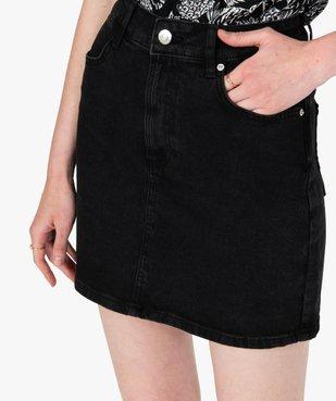 Jupe femme en jean extensible vue2 - GEMO(FEMME PAP) - GEMO