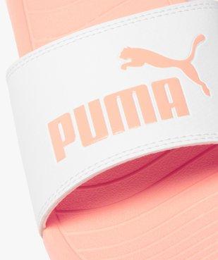 Mules de piscine femme à bandeau bicolore - Puma vue6 - PUMA - GEMO