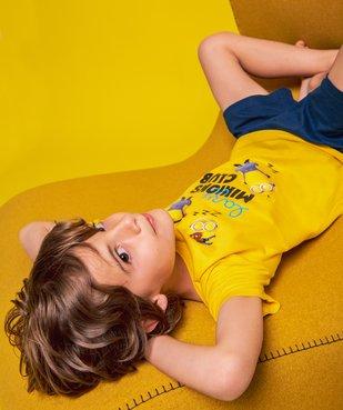 Pyjashort garçon bicolore – Les Minions 2 vue1 - NBCUNIVERSAL - GEMO