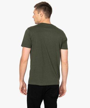 Tee-shirt homme à manches courtes imprimé Japon vue3 - GEMO (HOMME) - GEMO