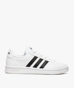 Baskets femme bicolores à lacets- Adidas Grand Court Base vue1 - ADIDAS - Nikesneakers