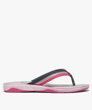 Tongs femme à semelle rembourrée et amortissante vue2 - Nikesneakers (PLAGE) - Nikesneakers