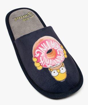 Mule d'intérieur motif Homer - Simpsons vue5 - SIMPSONS - GEMO