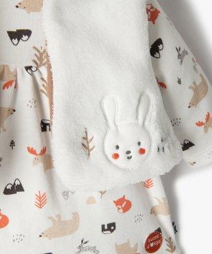 Ensemble bébé fille 3 pièces : tee-shirt + gilet + pantalon - Sucre d'Orge vue3 - SUCRE D'ORGE - Nikesneakers
