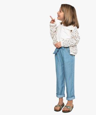 Blouson fille imprimé avec liserés pailletés vue5 - GEMO (ENFANT) - GEMO