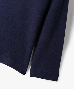 Tee-shirt garçon à manches longues et col montant vue3 - Nikesneakers (ENFANT) - Nikesneakers