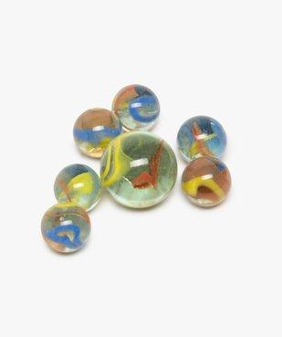 Sac de billes en verre multicolores – Perroquet Kim'Play vue2 - KIM PLAY - GEMO