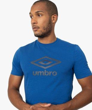 Tee-shirt homme à manches courtes à motif - Umbro vue2 - UMBRO - GEMO