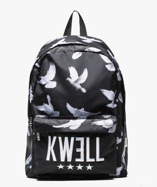 Sac à dos à imprimé oiseaux - Kwell by Soprano vue1 - KWELL - GEMO