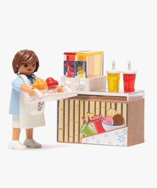Jouet enfant Vendeur de glace - Playmobil vue2 - DIVERS LICENCE - GEMO
