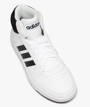 Baskets homme semi-montantes à lacets – Adidas Hoops Mid vue5 - ADIDAS - GEMO