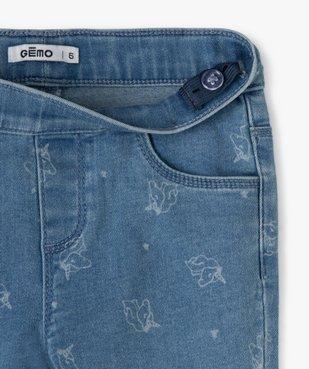 Jegging fille avec motifs licornes vue2 - Nikesneakers (ENFANT) - Nikesneakers