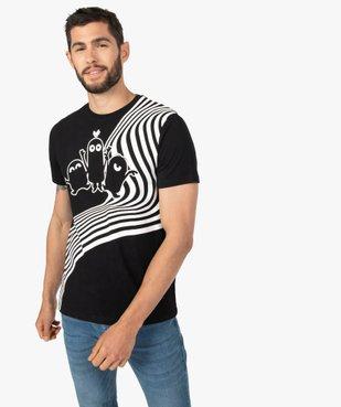 Tee-shirt homme imprimé à manches courtes - Les Minions vue1 - NBCUNIVERSAL DT - GEMO