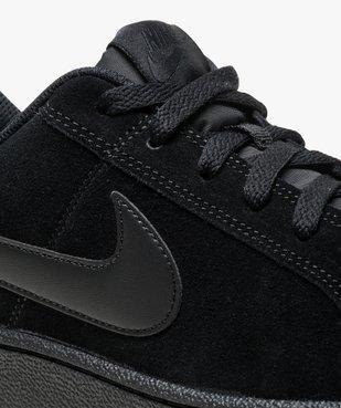 Baskets basses en suédine Nike vue6 - NIKE - GEMO