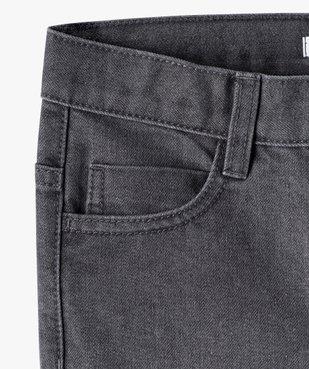 Jean garçon coupe Regular cinq poches vue3 - GEMO C4G GARCON - GEMO