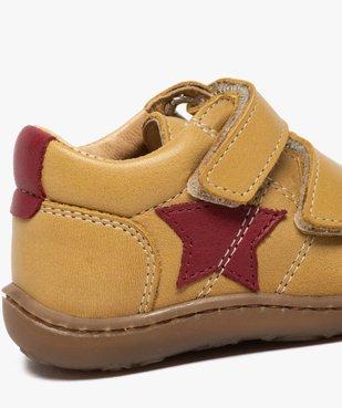 Chaussures premiers pas bébé garçon à scratch - Bopy vue6 - BOPY - GEMO