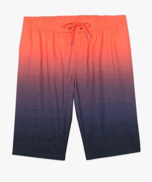 Short de bain homme multicolore dégradé vue4 - GEMO (PLAGE) - GEMO