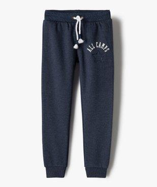 Pantalon de jogging fille avec ceinture pailletée – Camps United vue2 - CAMPS UNITED - GEMO