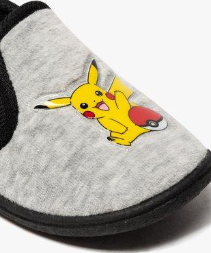 Chaussons garçon élastiqués en velours ras - Pokemon vue6 - POKEMON - GEMO