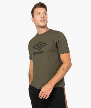 Tee-shirt homme à manches courtes avec inscription - Umbro vue1 - UMBRO - GEMO