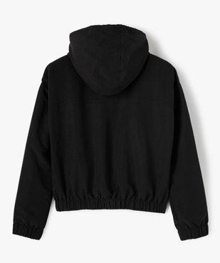 Veste fille à capuche pour le sport déperlante vue3 - GEMO (JUNIOR) - GEMO