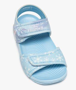 Sandales de plage fille à scratch – Reine des Neiges vue5 - REINE DES NEIGE - GEMO