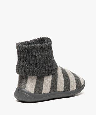 Chaussons bébé à rayures avec tige façon chaussettes vue4 - GEMO (ENFANT) - GEMO