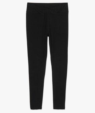 Pantalon de grossesse en maille style legging avec ceinture croisée vue4 - Nikesneakers (MATER) - Nikesneakers