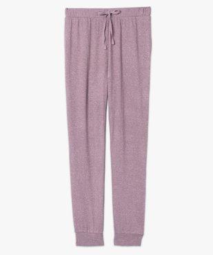 Pantalon de pyjama femme en maille fine vue4 - GEMO(HOMWR FEM) - GEMO